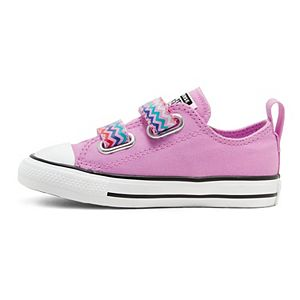 Toddler Girls' Converse Chuck Taylor All Star 2V VLTG OX Sneakers
