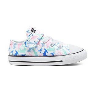 Toddler Girls' Converse Chuck Taylor All Star 1V Shark Bite OX Sneakers