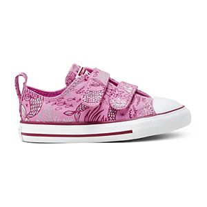 Toddler Girls' Converse Chuck Taylor All Star 2V Mermaid OX Sneakers