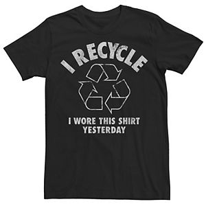 Men's I Recycle I Wore This Yesterday Graphic Tee