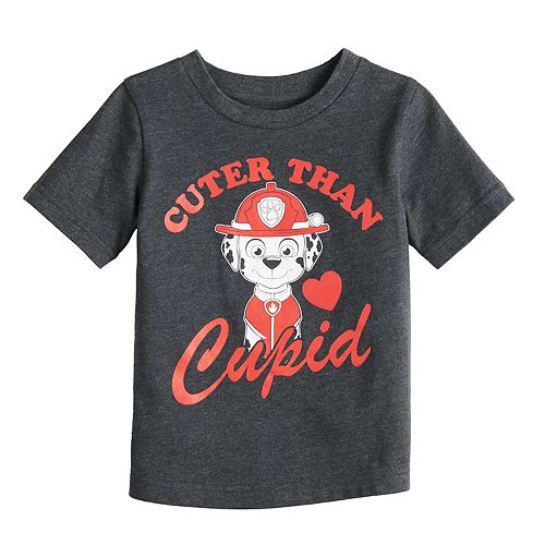 """Baby Boy Jumping Beans® Paw Patrol Marshall """"Cuter Than Cupid"""" Graphic Tee"""