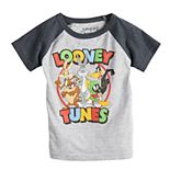 Toddler Boy Jumping Beans® Looney Tunes Raglan Graphic Tee