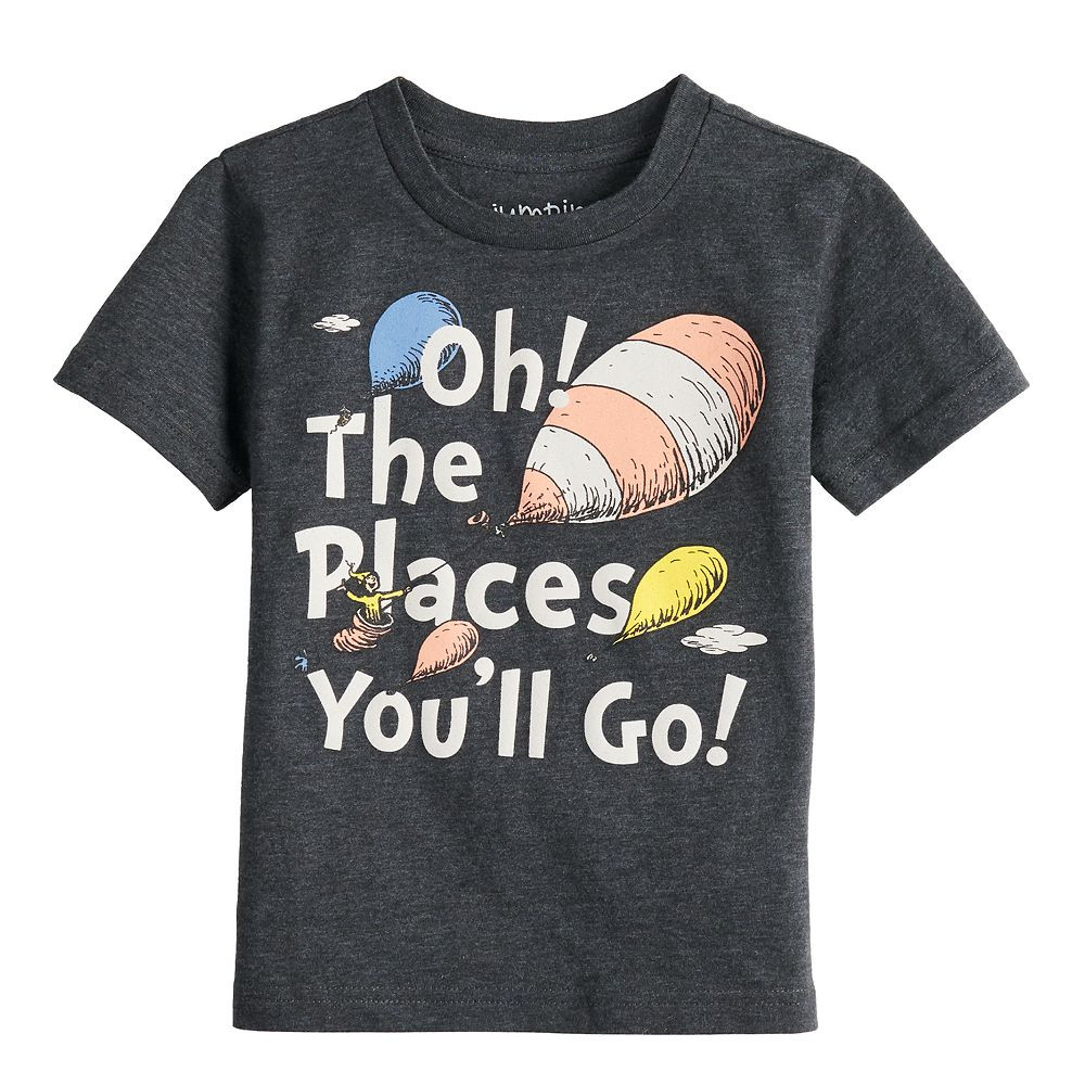 """Boys 4-12 Jumping Beans® Dr. Seuss """"Oh! The Places You'll Go!"""" Graphic Tee"""