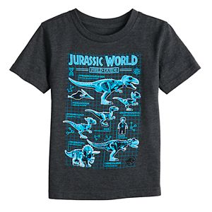 Toddler Boy Jumping Beans Jurassic World Field Guide Graphic Tee