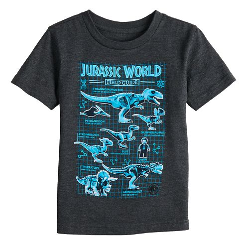 Boys 4-12 Jumping Beans® Jurassic World Field Guide Graphic Tee