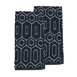 Scott Living Geo Jacquard Kitchen Towel 2-pk.
