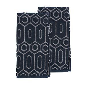 Scott Living Geo Jacquard Kitchen Towel 2-pk.