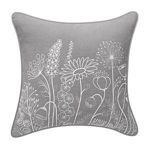 Blossoms Applique Pillow