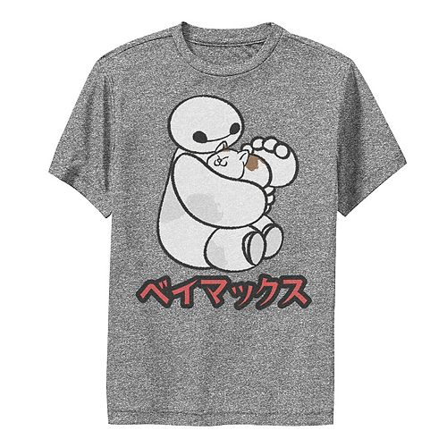 Disney's Big Hero 6 Boys 8-20 Baymax Hairy Baby Kanji Graphic Tee
