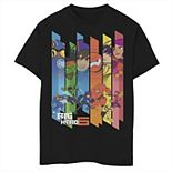 Disney's Big Hero 6 Boys 8-20 Team Curtain Panels Graphic Tee