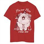 Disney's Big Hero 6 Boys 8-20 Holiday Hugs From Son Graphic Tee