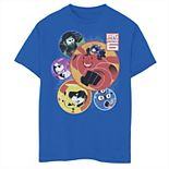 Disney's Big Hero 6 Boys 8-20 Team In Bubbles Graphic Tee