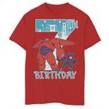 Disney's Big Hero 6 Boys 8-20 Baymax Hiro 7th Birthday Graphic Tee