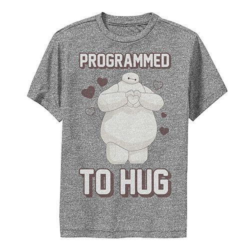 Disney's Big Hero 6 Boys 8-20 Baymax Heart Programmed To Hug Graphic Tee