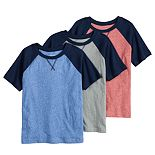 Toddler Boy Jumping Beans® 3-Pack Solid Tees
