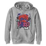 Disney's Big Hero 6 Boys 8-20 TV Series Baymax Hero Time Graphic Hoodie