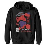 Disney's Big Hero 6 Boys 8-20 TV Series Baymax Robo Size Graphic Hoodie