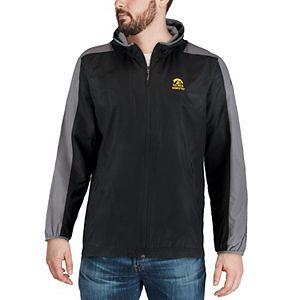Men's Under Armour Black Iowa Hawkeyes Supervent Windbreaker Jacket