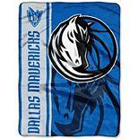 "The Northwest Dallas Mavericks Hooper 60"" x 80"" Oversized Raschel Throw Blanket"