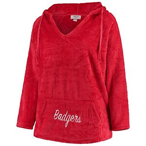 Pressbox US Raglan Long Sleeve Hooded French Terry Pullover