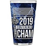 St. Louis Blues 2019 Western Conference Champions 16oz. Sublimated Pint Glass
