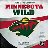Minnesota Wild 2019 Box Calendar
