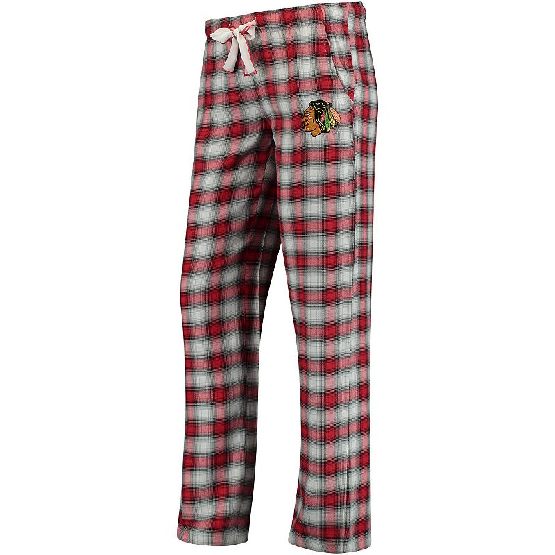 Women's Concepts Sport Red/Black Chicago Blackhawks Forge Pajama Pants, Size: Small