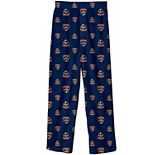 Preschool Navy Florida Panthers Team Logo Printed Pajama Pants