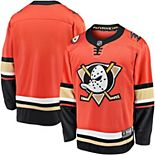 Men's Fanatics Branded Orange Anaheim Ducks Premier Breakaway Blank Alternate Jersey