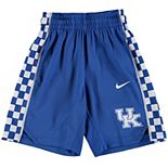 Youth Nike Royal Kentucky Wildcats Holiday Replica Basketball Shorts