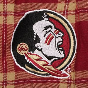 Men's Concepts Sport Garnet/Gold Florida State Seminoles Big & Tall Homestretch Flannel Pants