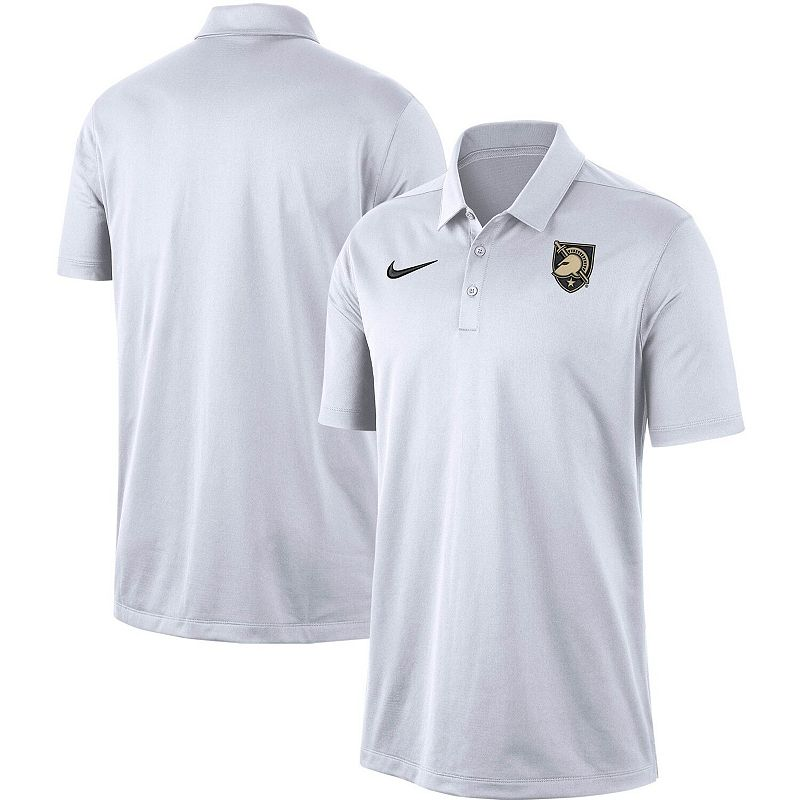 Men's Nike White Army Black Knights Franchise Performance Polo. Size: XL