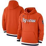 Men's Nike Orange Syracuse Orange Basketball Retro Club Fleece Pullover Hoodie