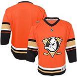 Infant Orange Anaheim Ducks 2019/20 Alternate Replica Jersey