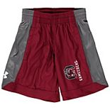 Youth Under Armour Garnet South Carolina Gamecocks Isolation Logo Performance Shorts