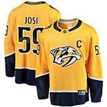 Men's Fanatics Branded Roman Josi Gold Nashville Predators Breakaway Player Jersey
