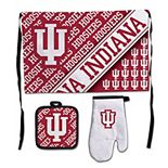 WinCraft Indiana Hoosiers 3-Piece Barbecue Set