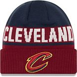 Youth New Era Wine Cleveland Cavaliers Chilled Cuffed Knit Hat
