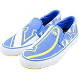 Men's Royal Golden State Warriors Slip-On Canvas Shoes