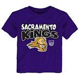 Preschool & Toddler Purple Sacramento Kings Bubble Letter T-Shirt