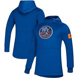 Men's adidas Royal New York Islanders Game Mode Pullover Hoodie
