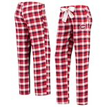 Women's Concepts Sport Red/Navy Montreal Canadiens Piedmont Flannel Pants