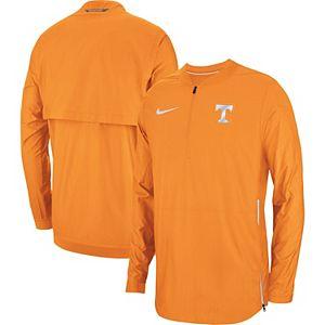 Men's Nike Orange Tennessee Volunteers 2018 Sideline Lockdown Half-Zip Jacket