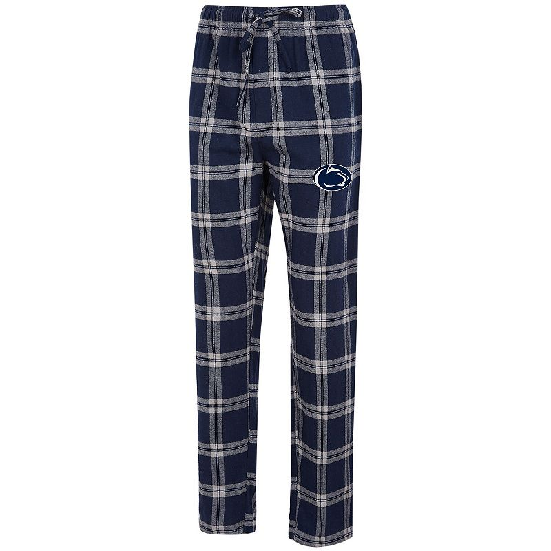 Men's Concepts Sport Navy/Gray Penn State Nittany Lions Big & Tall Homestretch Flannel Pants, Size: 5XB, Blue