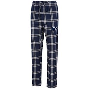 Men's Concepts Sport Navy/Gray Penn State Nittany Lions Big & Tall Homestretch Flannel Pants