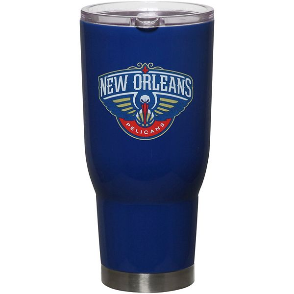New Orleans Pelicans 32oz. Powder-Coated Stainless Steel Tumbler