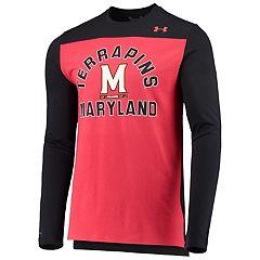 Black Under Armour NCAA Washington Huskies Teen-Boys NCAA Boys Short Sleeve Vented Tee Medium