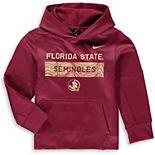 Youth Nike Garnet Florida State Seminoles Staff Performance Pullover Hoodie
