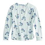 Girls 4-20 SO® Crewneck Raglan Sleeve Sweatshirt