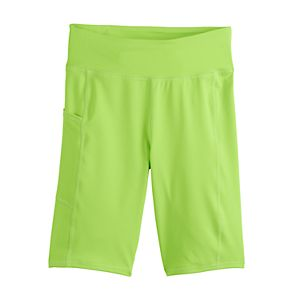 Girls 4-20 SO® Long Bike Shorts